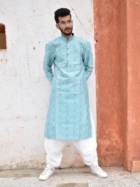 Sage Green Kurta Set